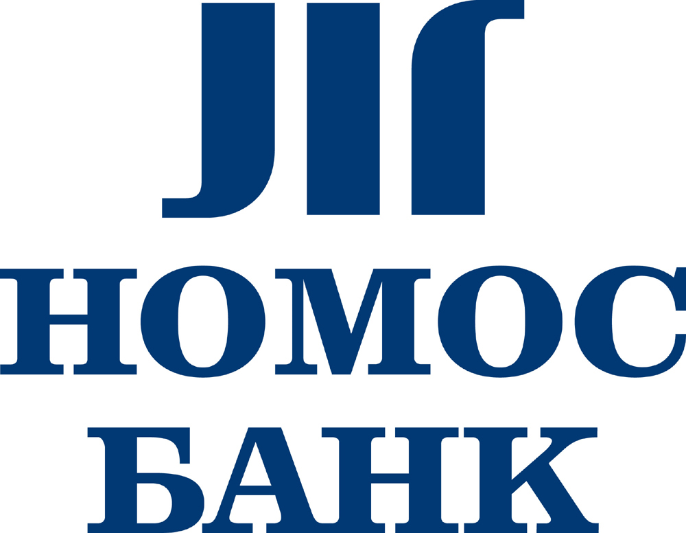 "Логотип ""НОМОС-Банка"""