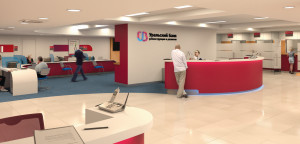 Фото офисных помещений «Уральского Банка Реконструкции и Развития»